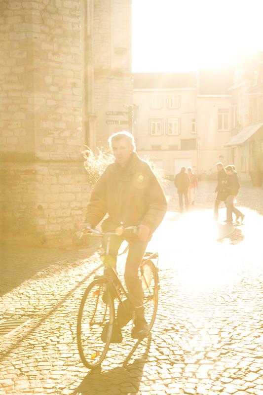 biker in Kortrijk