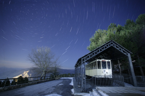 Startrails_tranvía_2th