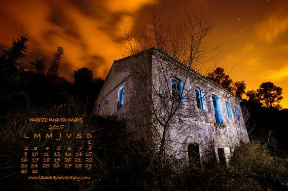 calendario marzo 2015