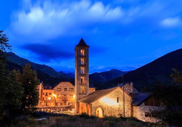 Iglesia románica Erill la Vall
