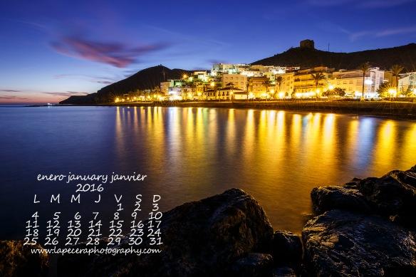 Calendario Enero 2016