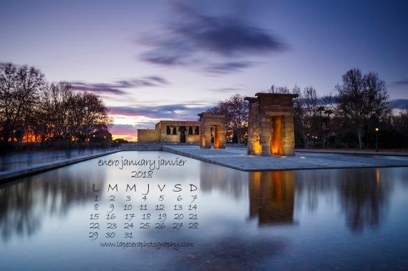CalendarioEnero2018