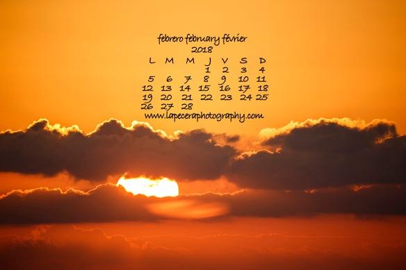 CalendarioFebrero2018