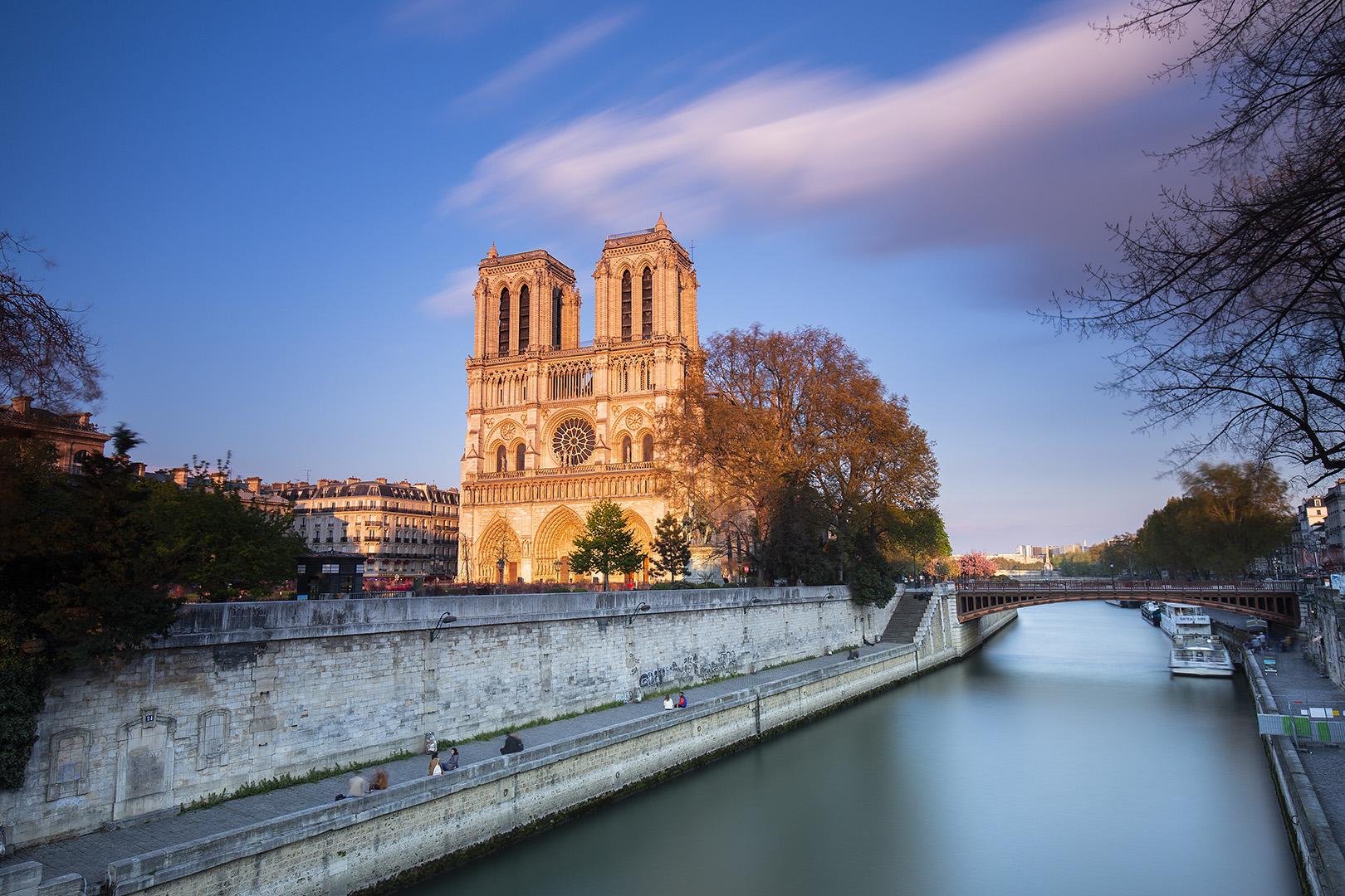 Notre Dame antes de arder
